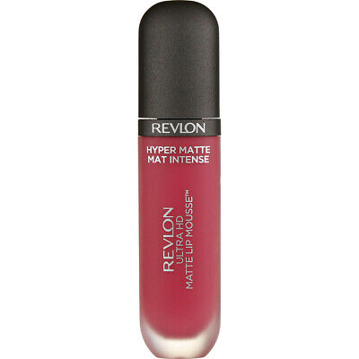 4 Pack Revlon Ultra HD Matte Lip Mousse, Dusty Rose 800, 0.2 fl oz