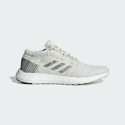 ADIDAS PUREBOOST GO Boost Running Shoes Grey White Size 10.5