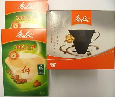 Melitta Brewing Cup with 80 Filter Papers 1x4
