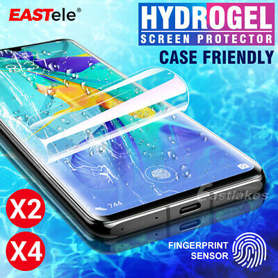 2x EASTele Huawei P30/ P30 Pro HYDROGEL AQUA FLEX Full Screen Protector Crystal