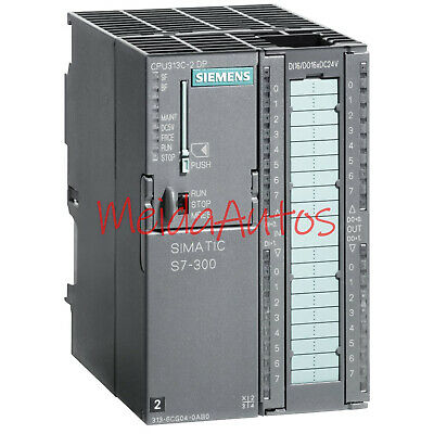 Used Siemens 6ES7 313-6CG04-0AB0 compact central processing unit Tested Good