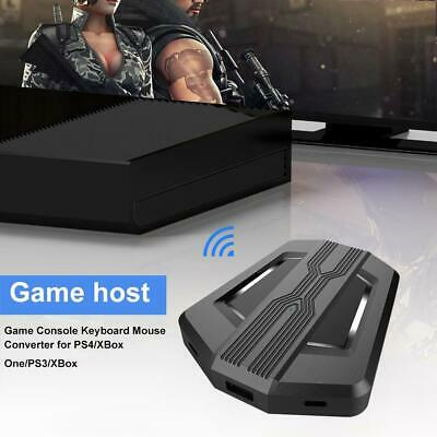 Game Console  three USB Keyboard Mouse Converter for PS4/XBox  HS-SW315