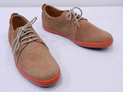 CAMPER MENS 40 7 Light Brown Suede Casual Dress Oxfords