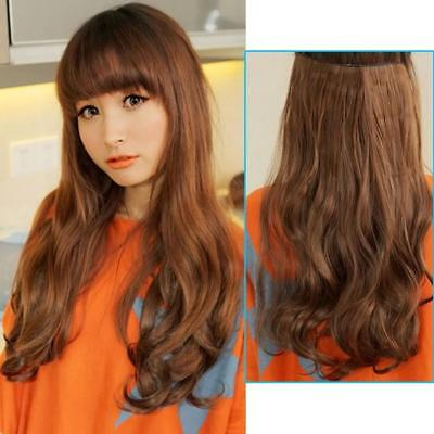 Women Hair Wig  Long Wavy Curly Synthetic Hair Wig Fast