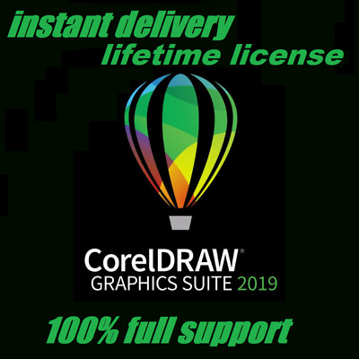 New CorelDRAW Graphics Suite 2019 🔑 Lifetime Activated 🔥 Instant Delivery 📥