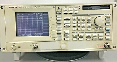 Advantest R3131A Spectrum Analyzer, 9 kHz - 3 GHz, TESTED in GOOD CONDITION.