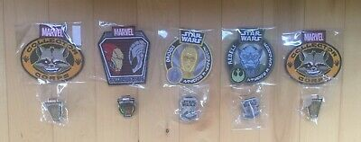 Funko Marvel Collector Corps Star Wars Smuggler's Bounty Pin Patch Lot of 10