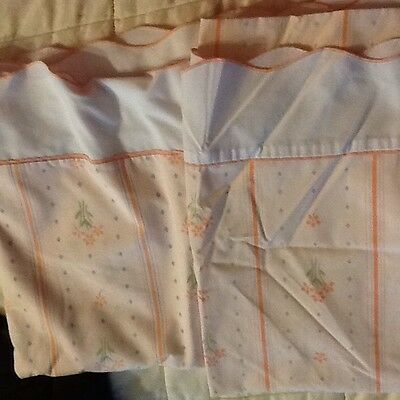 2 Sets Vintage Fieldcrest Twin Sheets-Perfection Percale-Gently Used Condition