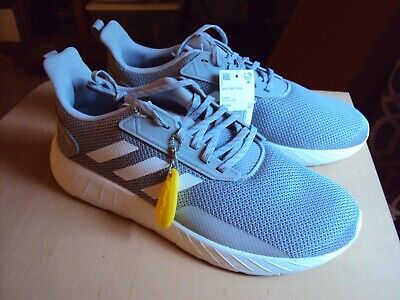 ADIDAS QUESTAR DRIVE MEN'S Running SHOES gray white size 12