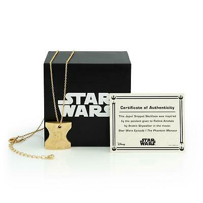 Star Wars Japor Snippet Necklace Collectible Star Wars Jewelry Pendant