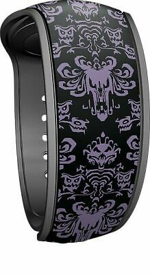 Disney Parks Haunted Mansion 50th 2019 Wallpaper MagicBand Magic Band NIB