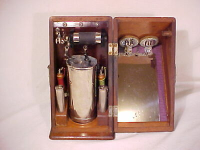 Antique Quack Medicine Electric Battery Shock Therapy Medical Device