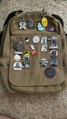 A Huge Lot Of Disney Pins, Star Wars Theme!