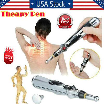 Therapy Pen Electronic Acupuncture Meridian Energy Heal Massage Pain Relief 2019