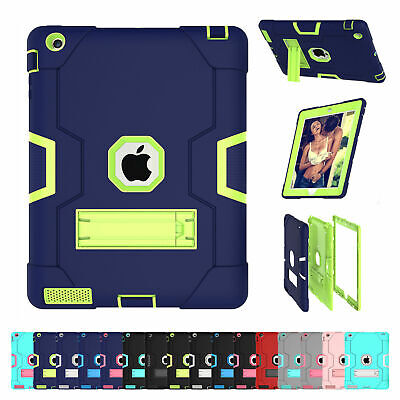Hybrid Military Stand Hard Case For iPad 9.7 6th Generation 2018/5th Gen 2017
