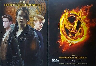 THE HUNGER GAMES Trading Card Set of 72 Neca 2012