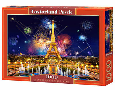 Castorland C-104369-2 Neu Romantic Walk in Paris Puzzle 1000 Teile