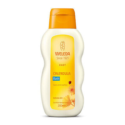 Weleda Baby Calendula Cares and Soothes Cream Bath Delicate Skin - 200ml