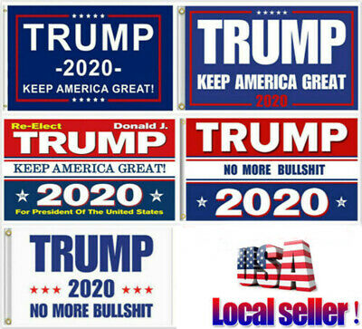 Trump 2020 Keep America Great President MAGA Make America Great 3x5 Ft Flag Qc