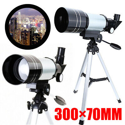 Pro 150X Refractor Telescope Tripod F30070M Monocular Space Astronomical Scope
