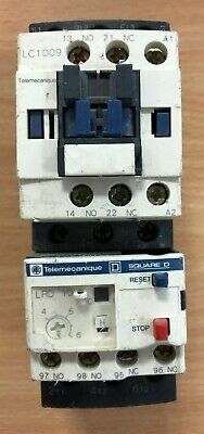 Telemecanique LC1D09 Contactor & LRD10 Overload Relay