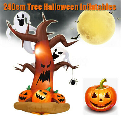 Halloween Inflatable Pumpkin Ghost Scary Outdoor Yard Halloween Inflatable Decor