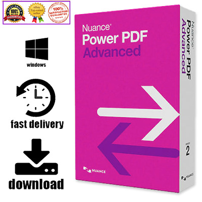 🔥 Nuance Power PDF Advanced v2.1 ✔️ LifeTime Activation Key ✔️Fast Delivery 🔥
