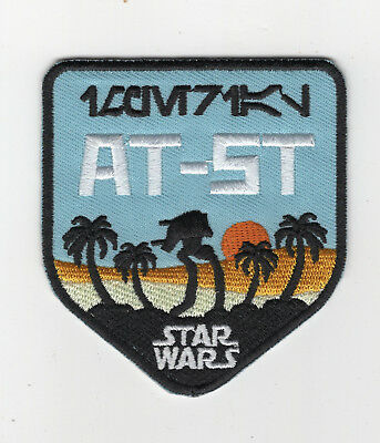 Star Wars Rogue One AT-ST patch 3 inches tall patch