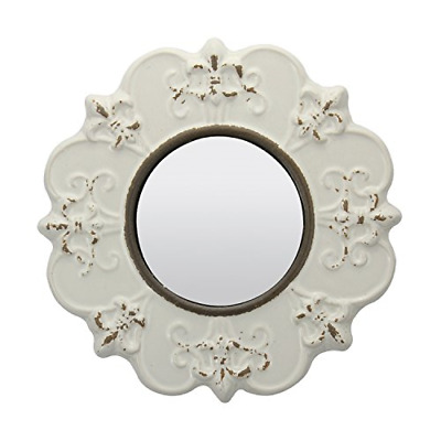 Decorative Round Antique Ceramic Wall Mirror Vintage Home D�cor for Living Room
