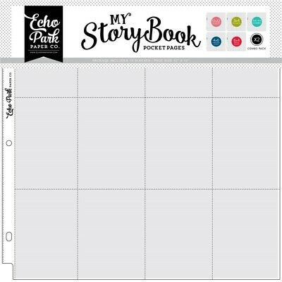 12x12 Inch Pocket Page - Combo Pack (10 Sheets) (msbpp1206)