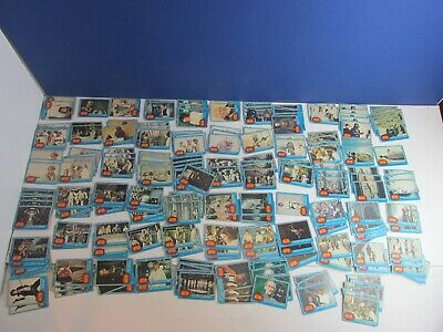 225 vintage BLUE TOPPS TRADING CARDS star wars LARGE LOT 1977 worn NEW HOPE