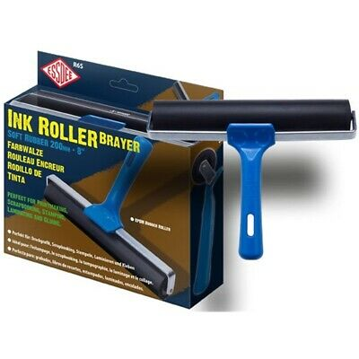 Soft Rubber Ink Roller 200mm (r6s)