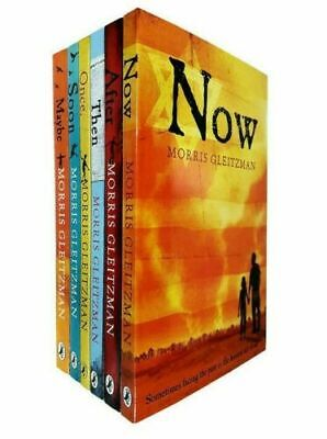 The Once Series 6 Books Set Pack Morris Gleitzman Once,Then,Now,After,Soon,Maybe