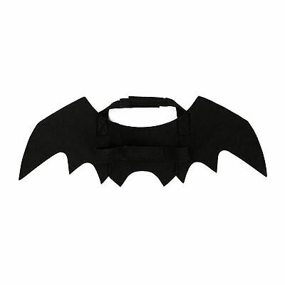 Black Vampire Bat Wings for Pet Cat Small Dog Halloween Cute Fancy Dress Costume