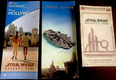 Star Wars: Galaxy's Edge Hollywood Studio Park maps