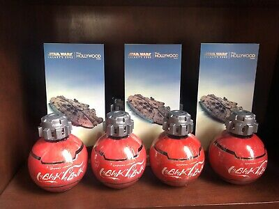 New Star War Galaxy Edge Disney Park Coca Cola Coke Bottle Unopened Sealed