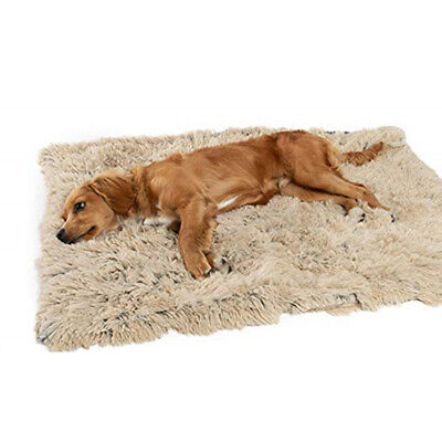 Pet Washable Home Blanket Cat Dog Bed Cushion Mattress Kennel Soft Crate Mat UK