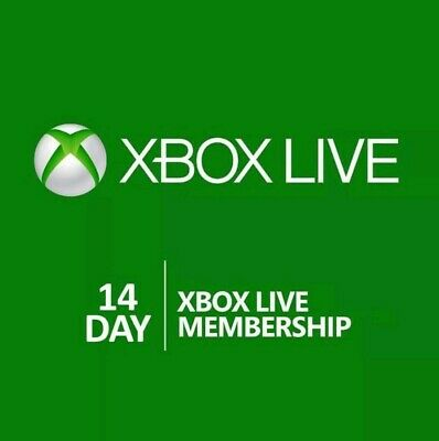 Xbox Live 14 Day (2 Weeks) Gold Trial Online Code