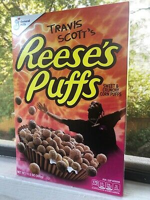 Travis Scott Reese's Puffs cereal Cactus Jack