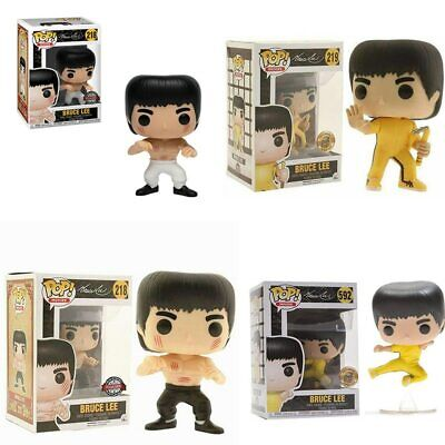Funko pop BRUCE LEE Action Figure Anime Model Pvc Collection Toys For birthday