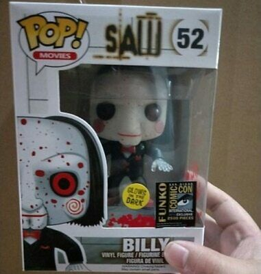 Funko POP SAW BILLY 52#  Action Figure Collectible Model Toy with Box  limited