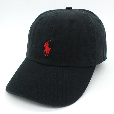 RL Polo Men Women Classic Embroidered Pony Cotton Baseball Cap Adjustable Hat