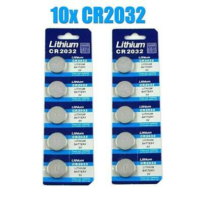 Wholesale 10PCS Li-ion 3V CR2032 DL2032 ECR2032 5004LC 3Volt Button Cell Battery