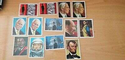 1965 lote de 13 cards Spanish charlot Ford Lincoln etc
