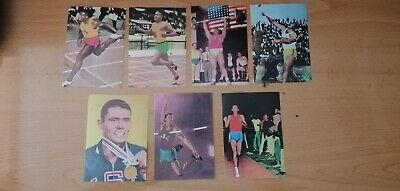 1968 lote de 7 cards Spanish Hayes etc