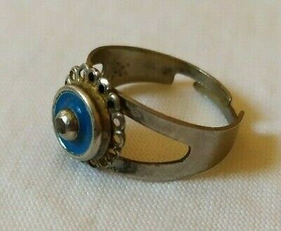 Ancient Antique Ring Old Berber Artifact With Quality Museum Extremely Rare