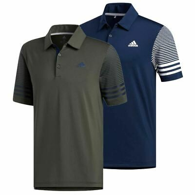 adidas Golf 2019 Mens Ultimate 365 Gradient Short Sleeve Golf Polo Shirt