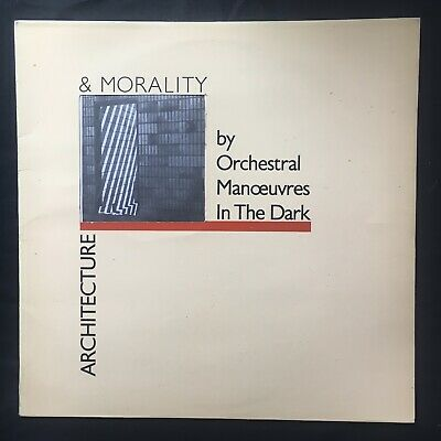 ORCHESTRAL MANOEUVRES IN THE DARK OMD Architecture & Morality UK 1st VINYL LP EX
