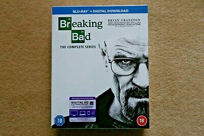 Blu-Ray Breaking Bad The Complete Series ( 16 Disc )  Boxset New Sealed Uk Stock