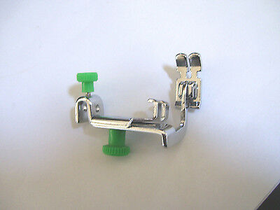 ZIPPER STRAIGHT STITCH+ FOOT Adj. Low Shank SINGER Featherweight JANOME BROTHER+
